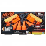 Набор с мишенями и двумя бластерами Nerf Alpha Strike Fang QS-4