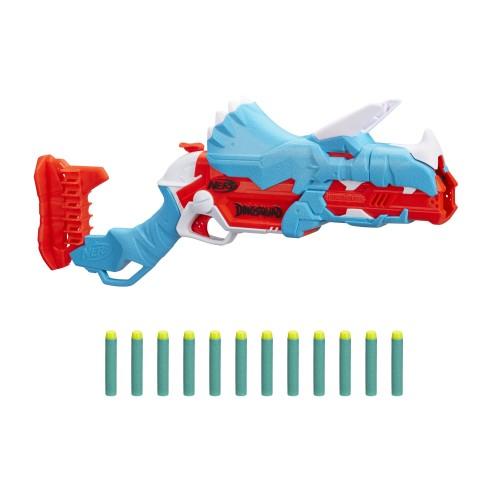 Бластер Nerf DinoSquad Tricera-Blast