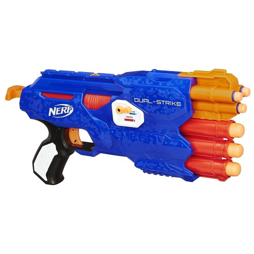 Бластер Nerf Elite Dual-Strike
