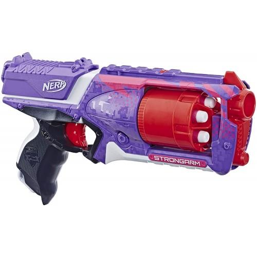Бластер Nerf Elite Strongarm Фиолетовый