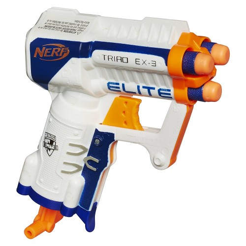 Бластер Nerf Elite Triad EX-3