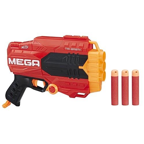 Бластер Nerf Mega Tri-Break