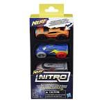 Набор машинок Nerf Nitro 3 шт. (версия 3)