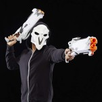 Набор с двумя бластерами и маской Nerf Rival Overwatch Reaper Collector Pack