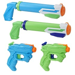 Набор 4 водных бластеров Nerf Super Soaker Floodtastic