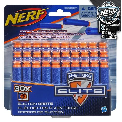 Набор стрел Nerf Elite c присосками 30 шт