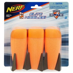 Набор ракет Nerf Elite Missiles 3 шт