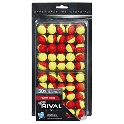 Набор шаров Nerf Rival 50 шт. (желто-красные)