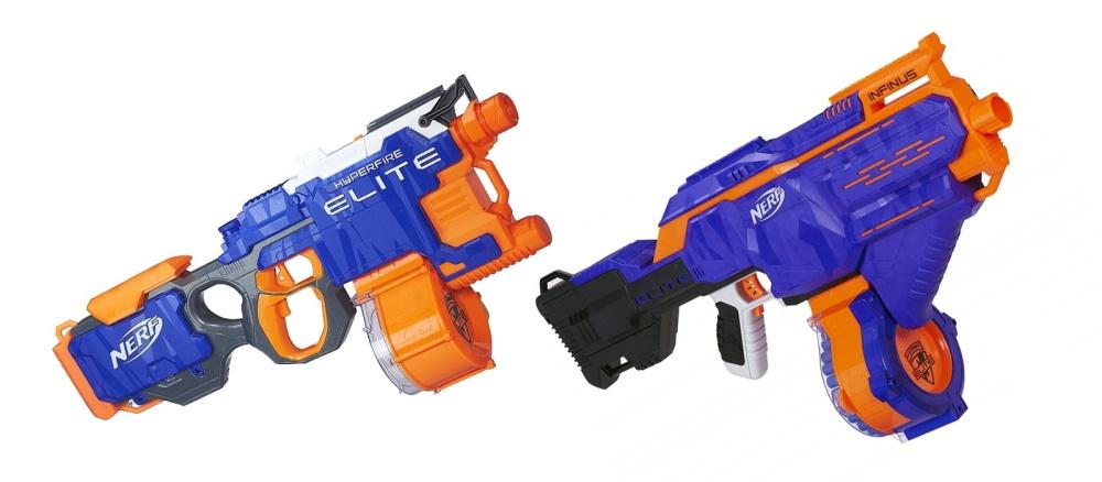 Nerf: HyperFire vs Infinus