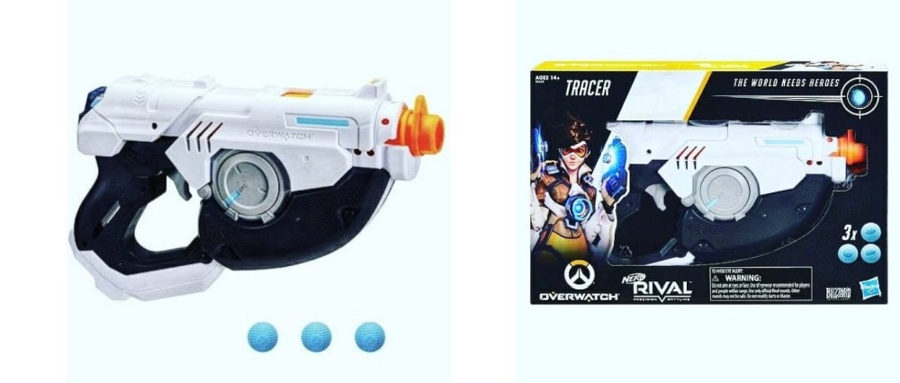 Nerf Overwatch Tracer
