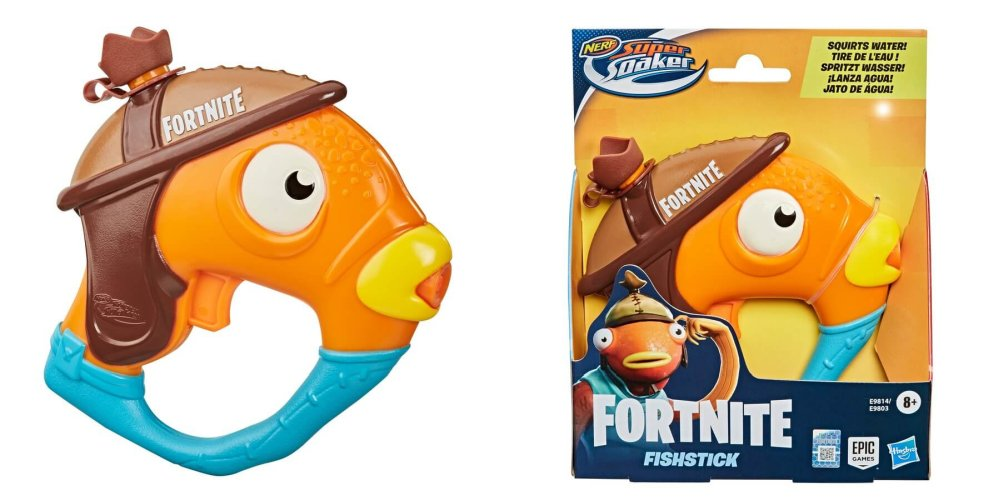 Водный бластер Nerf Super Soaker Fortnite Fishstick