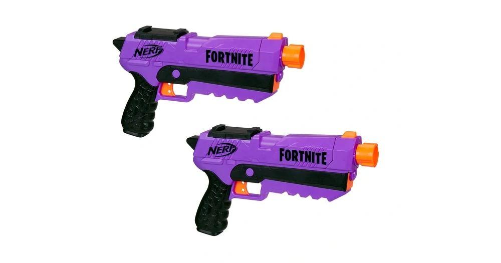 Бластеры Nerf Fortnite DP-E