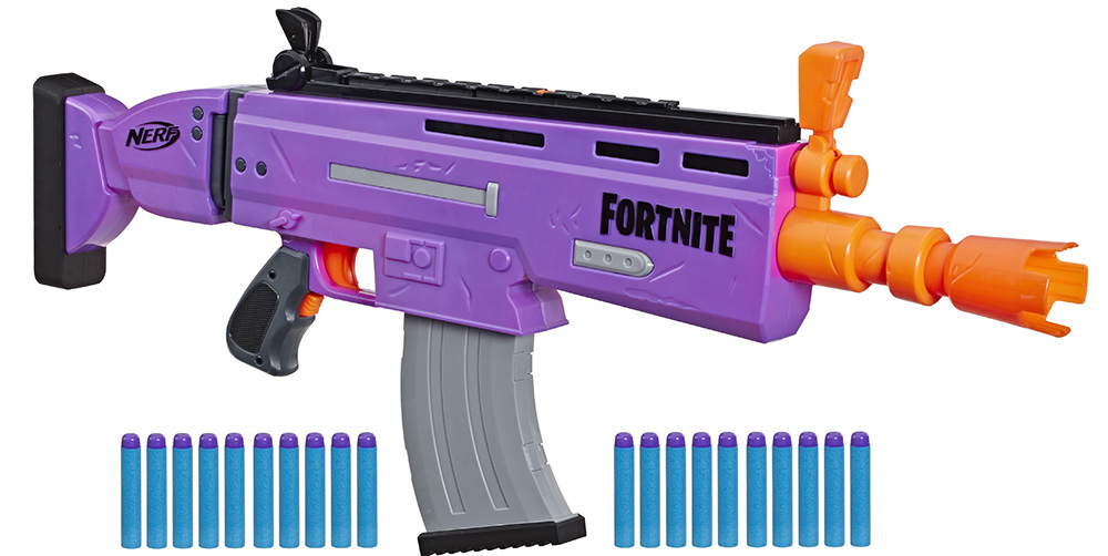 Бластер Fortnite AR-E