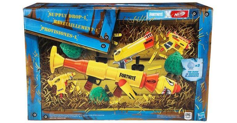 Ящик с оружием Nerf Fortnite