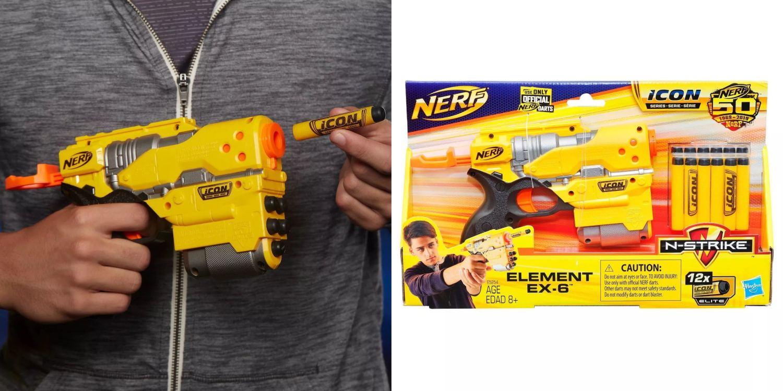 Бластер Nerf ICON Element EX-6